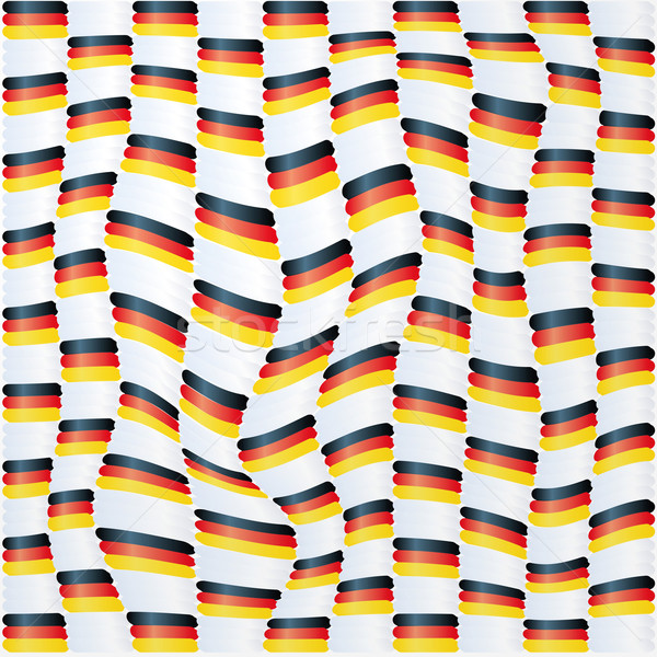 Fabric with germany flag pattern  Stock photo © Ustofre9