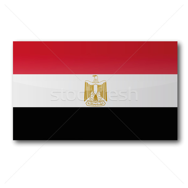 Flag Egypt Stock photo © Ustofre9