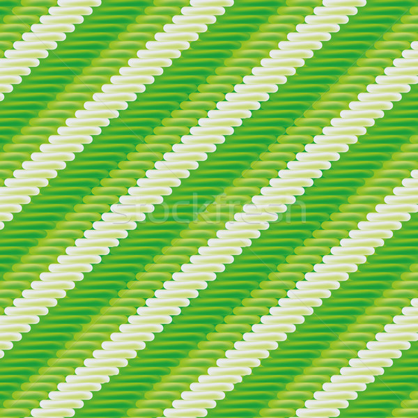 Green fabric with stripe pattern Stock photo © Ustofre9