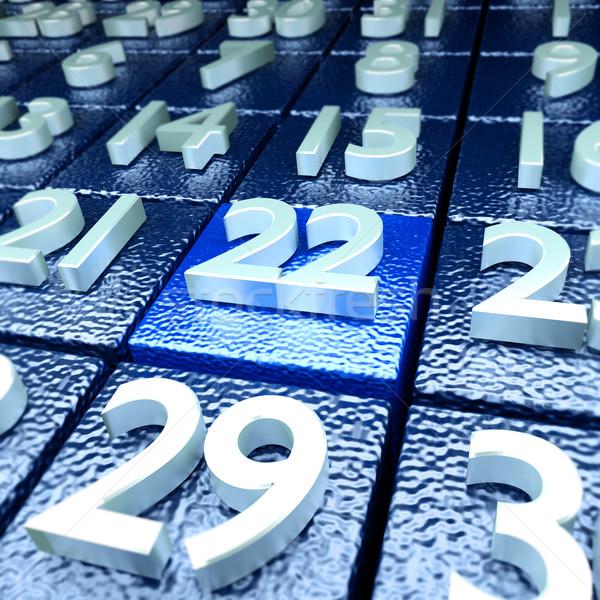 Giorno scuola calendario industria libertà vacanze Foto d'archivio © Ustofre9