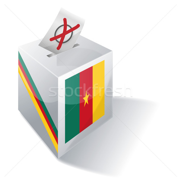 Ballot box Cameroon Stock photo © Ustofre9
