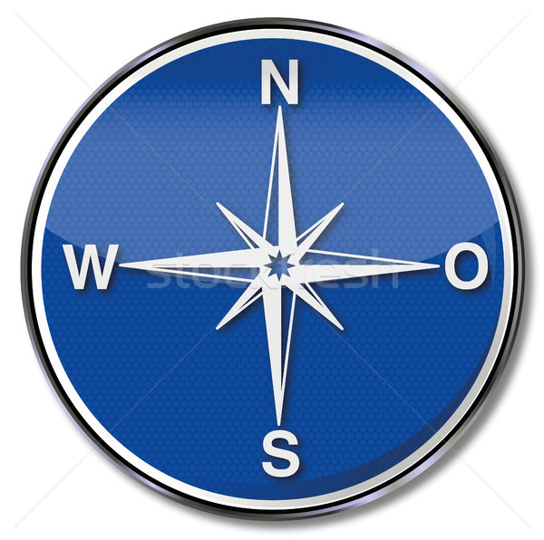 Sign compass, direction and  indication Stock photo © Ustofre9