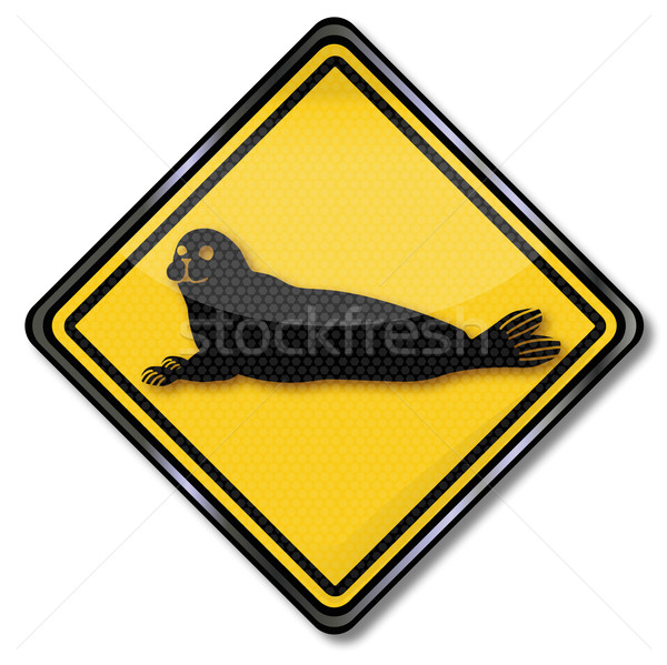 Sign with seal  Stock photo © Ustofre9