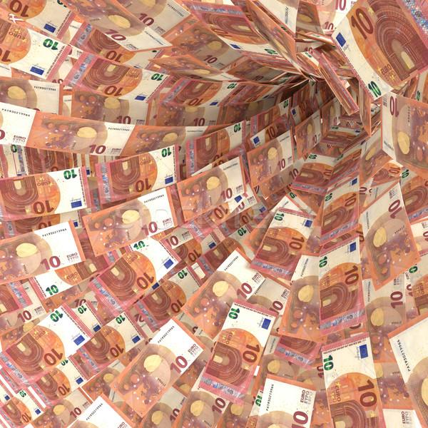 Soldi vortice 10 euro sicurezza Foto d'archivio © Ustofre9