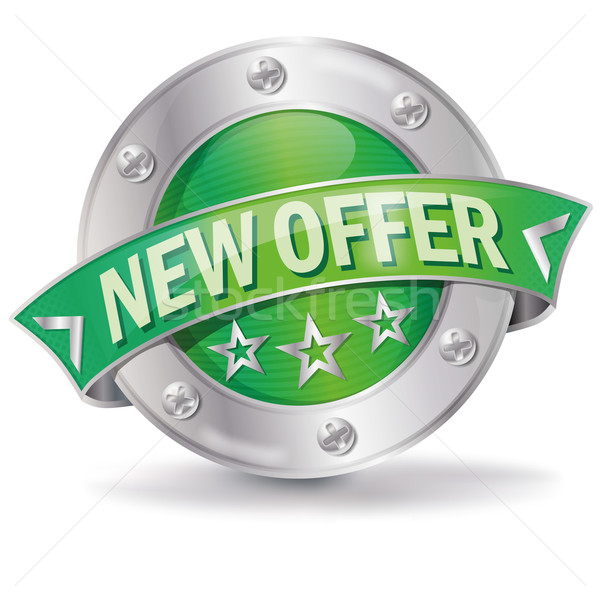 Button new offer Stock photo © Ustofre9