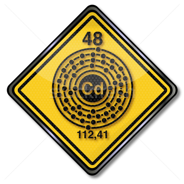 Sign chemistry character cadmium Stock photo © Ustofre9