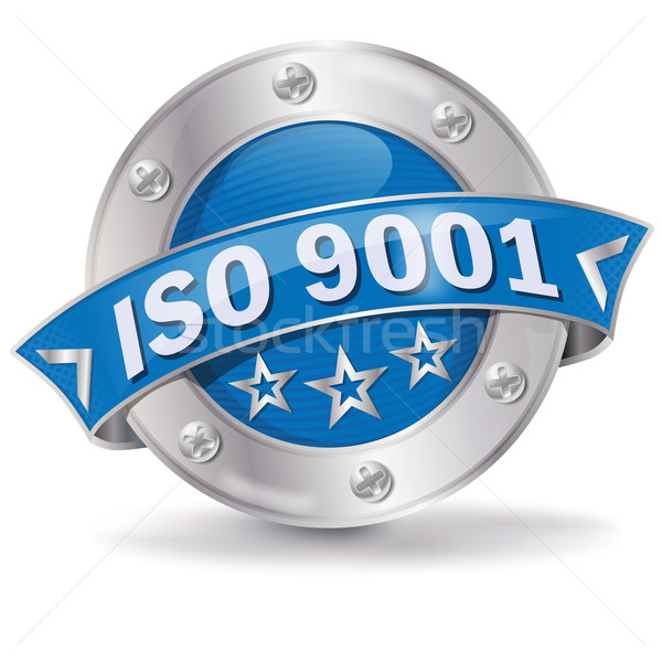 Button ISO 9001 Stock photo © Ustofre9