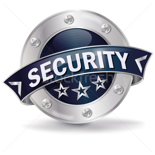 Knop veiligheid business winkelen web helpen Stockfoto © Ustofre9