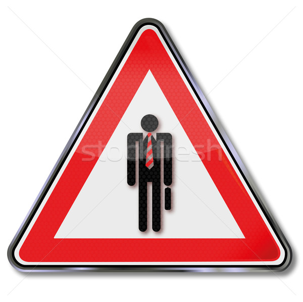 Sign suits Stock photo © Ustofre9