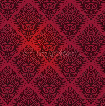 Wallpaper with dark red pattern Stock photo © Ustofre9