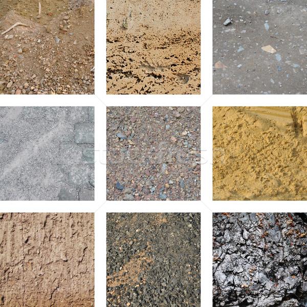 Nove sujeira fundo areia padrão Foto stock © Ustofre9