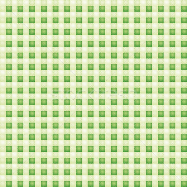 Small patterned green fabric with checks  Stock photo © Ustofre9