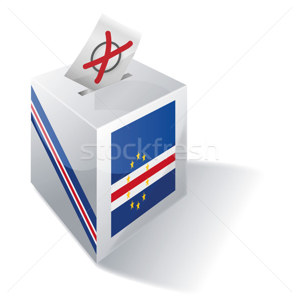 Ballot box Cape Verde Stock photo © Ustofre9