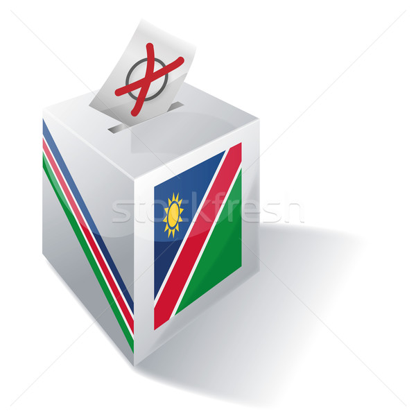 Ballot box Namibia Stock photo © Ustofre9