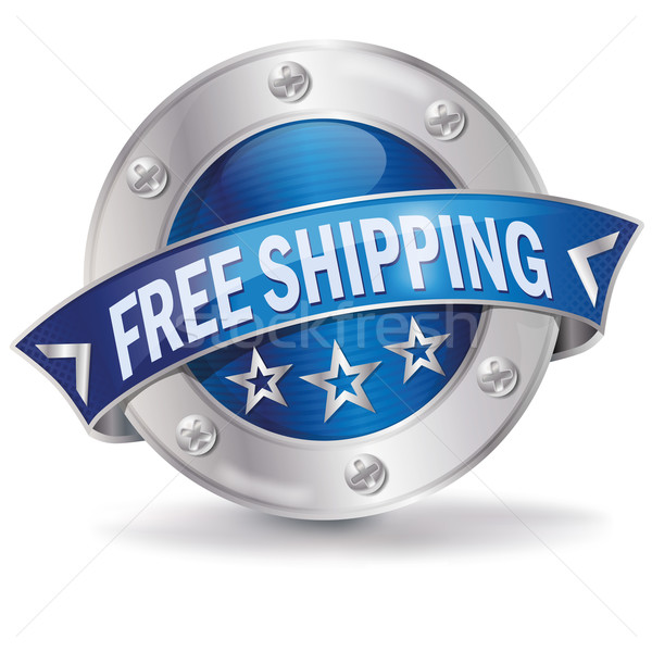 Button free shipping Stock photo © Ustofre9