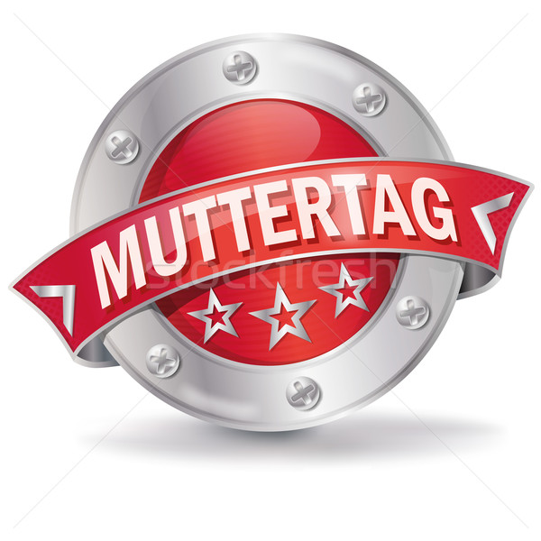 Button mothers day Stock photo © Ustofre9