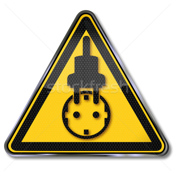 Socket, power, power saving and power consumption  Stock photo © Ustofre9