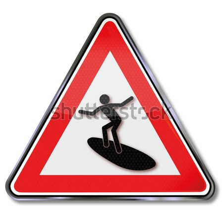 Sign attention drunks and dizziness Stock photo © Ustofre9