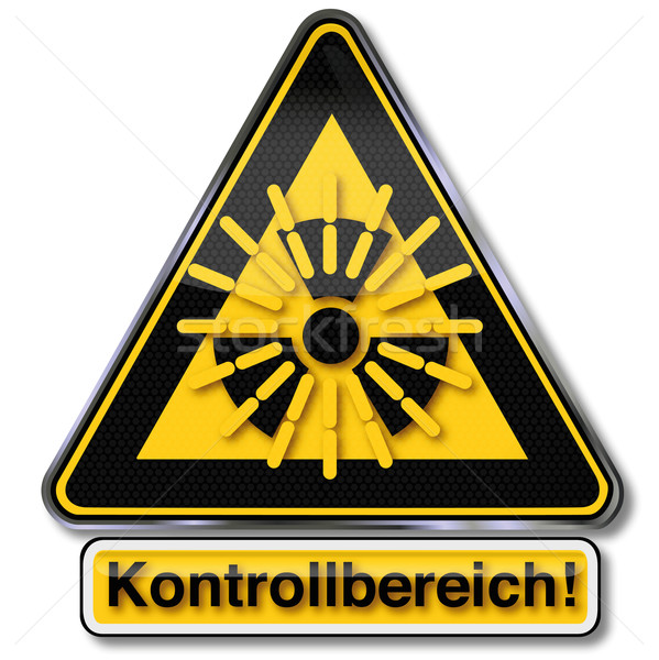 Atomique nucléaire rayonnement bouclier contrôle risque Photo stock © Ustofre9