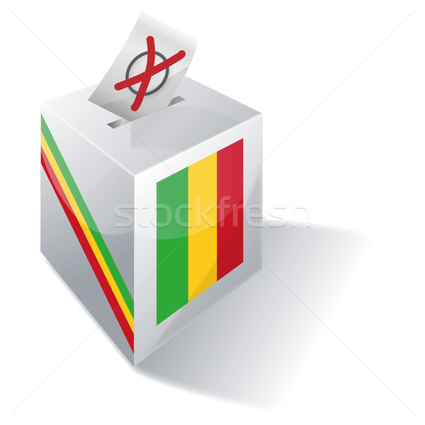 Ballot box Mali Stock photo © Ustofre9