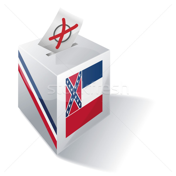 Ballot box Mississippi Stock photo © Ustofre9