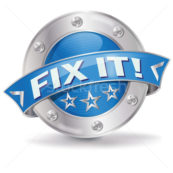 Button Fix It  Stock photo © Ustofre9