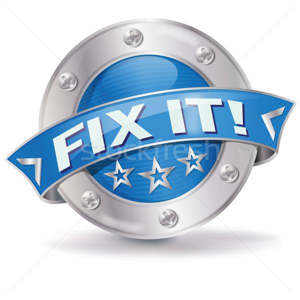 Button Fix It  Stock photo © Ustofre9