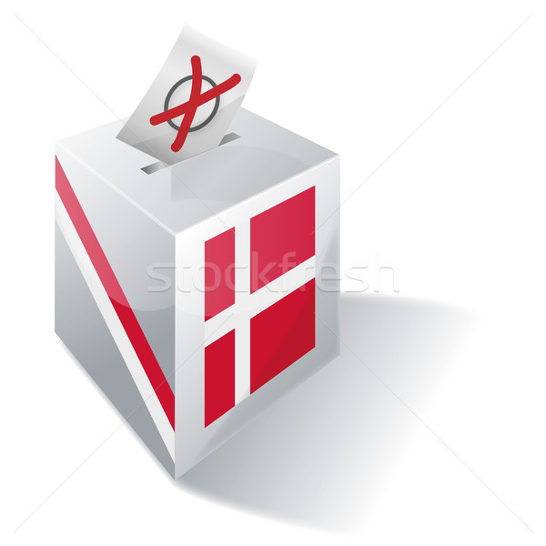 Ballot box Denmark Stock photo © Ustofre9