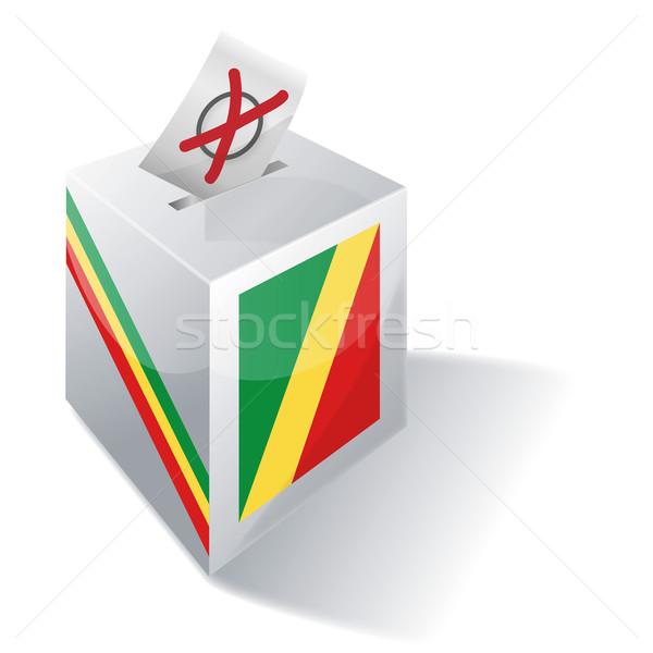 Ballot box Republic of Congo Stock photo © Ustofre9