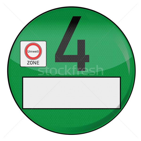 Green EPA sticker four Stock photo © Ustofre9