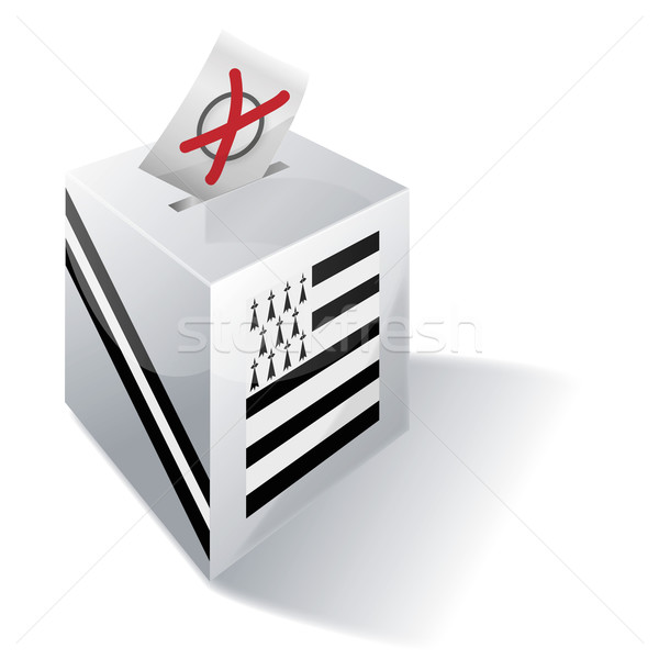 Ballot box Brittany Stock photo © Ustofre9