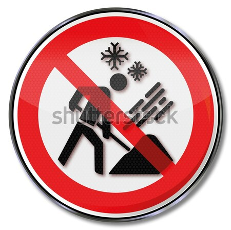 Prohibition sign for mosquitos Stock photo © Ustofre9