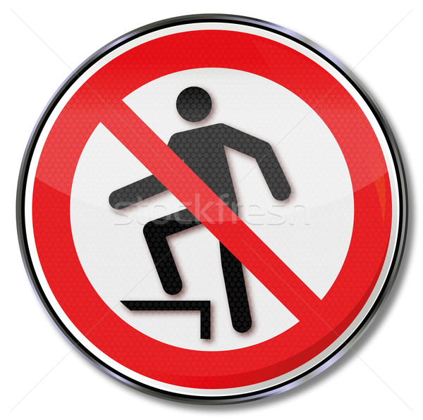 Prohibition sign for upgrades  Stock photo © Ustofre9
