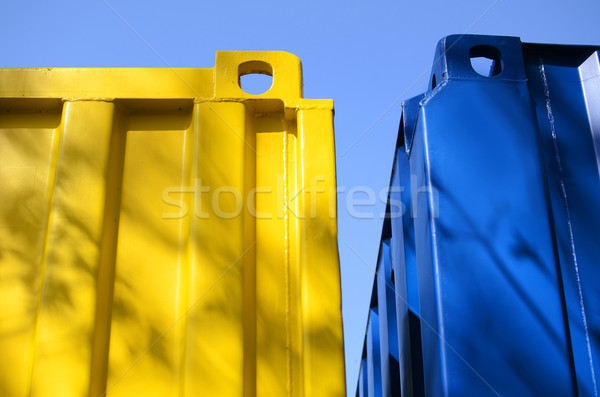 Two containers Stock photo © Ustofre9