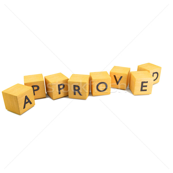 Dice approved Stock photo © Ustofre9