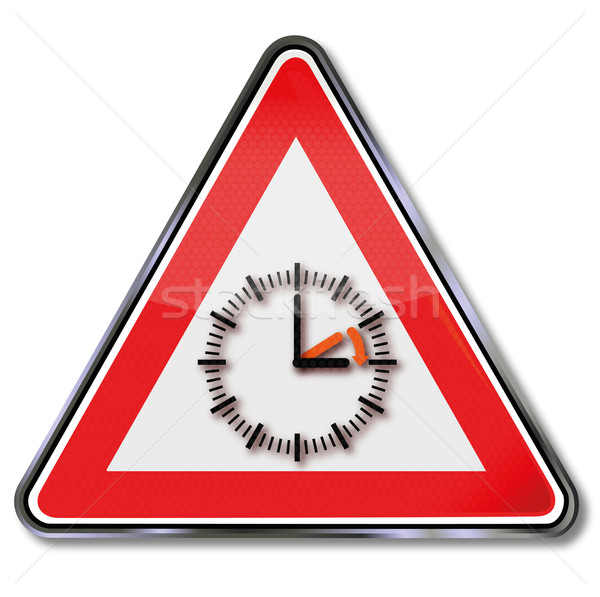 Sign with daylight saving time Stock photo © Ustofre9