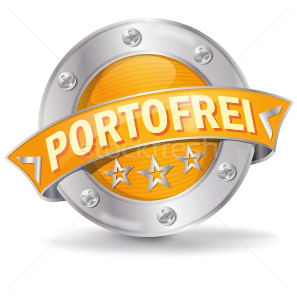 Button free postage Stock photo © Ustofre9