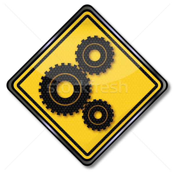 Sign gears and power transmission Stock photo © Ustofre9