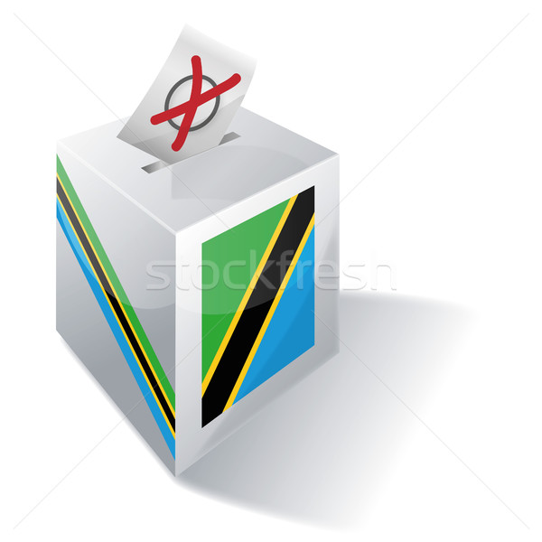 Ballot box of Tanzania Stock photo © Ustofre9