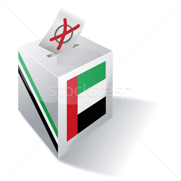 Ballot box United Arab Emirates Stock photo © Ustofre9