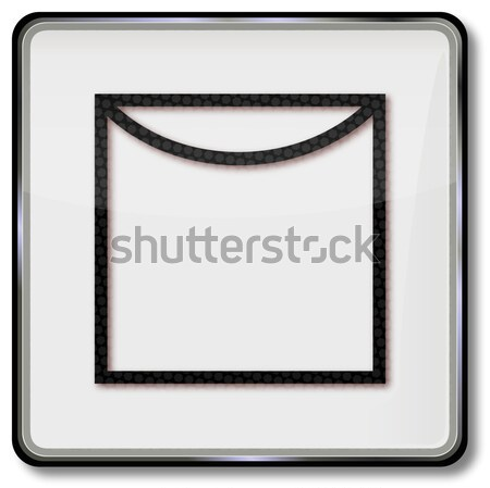 Textile care symbol dry clothes on the clothes line Stock photo © Ustofre9