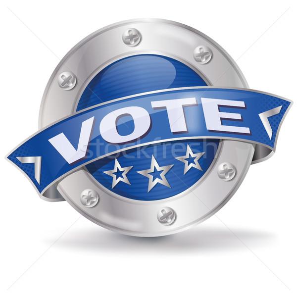 Düğme oy görüş iş yardım bilgi Stok fotoğraf © Ustofre9