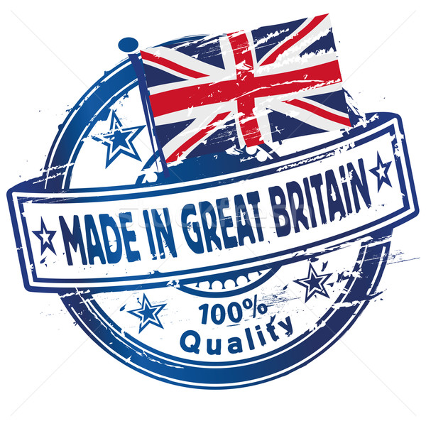 Rubber stamp made in Great Britain  Stock photo © Ustofre9