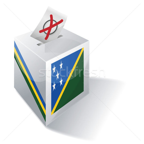 Ballot box Solomon Islands Stock photo © Ustofre9