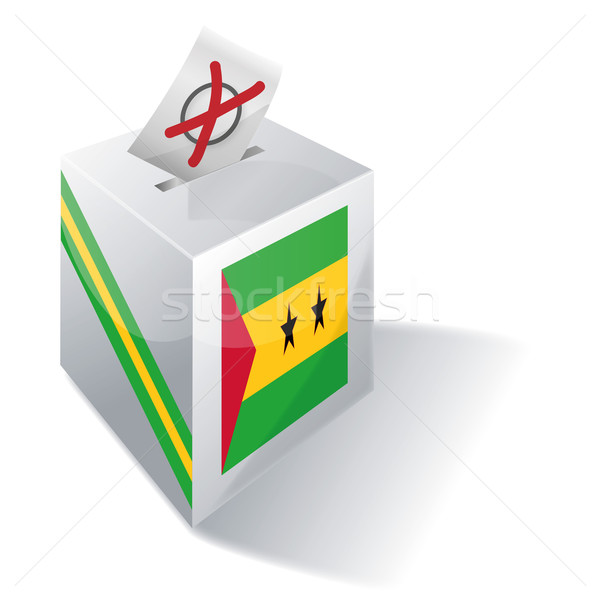 Ballot box Sao Tome and Principe Stock photo © Ustofre9