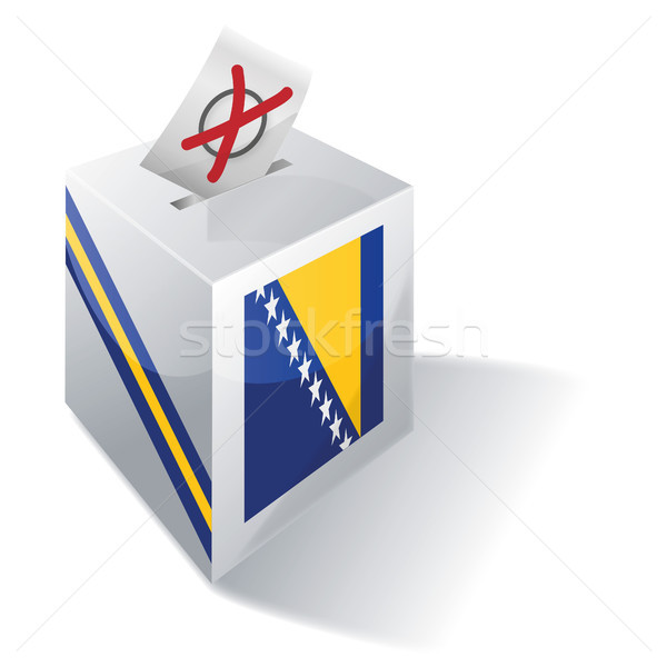 Ballot box Bosnia-Herzegovina Stock photo © Ustofre9