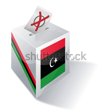 Ballot box India Stock photo © Ustofre9