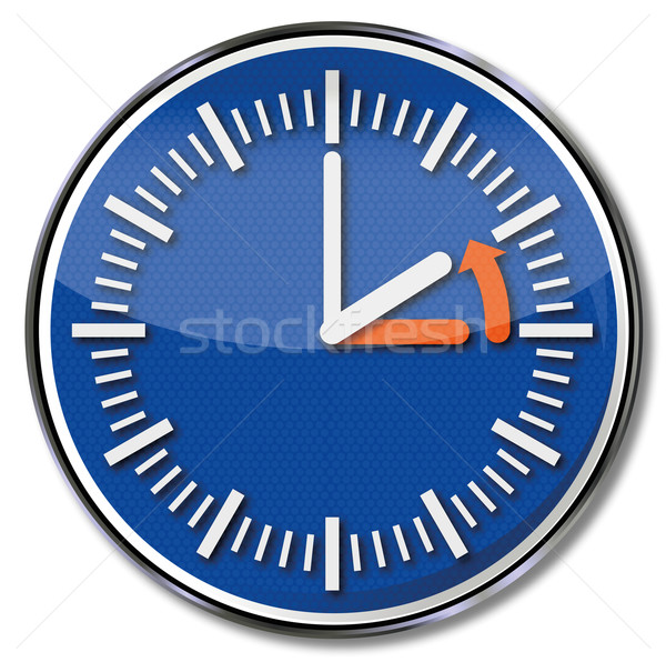Sign winter time, time conversion and time zone  Stock photo © Ustofre9