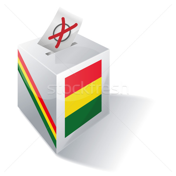 Ballot box Bolivia Stock photo © Ustofre9