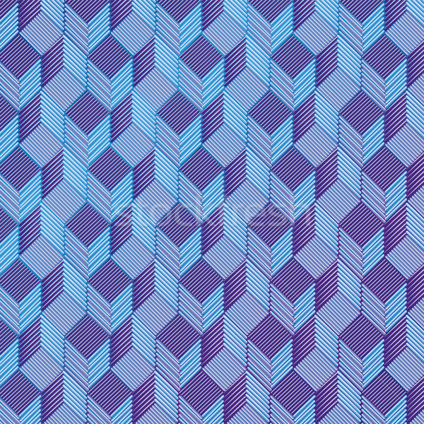 Blue dice on a fabric pattern Stock photo © Ustofre9